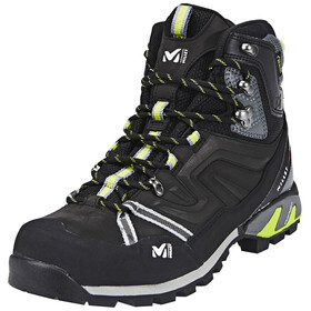 Millet High Route GTX Shoes Men charcoal/acid green